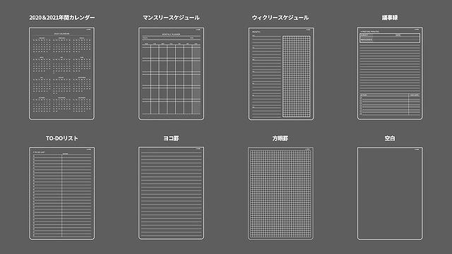 MagEasy ノートのパターン