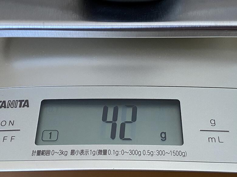 TaoTronics SoundLiberty 88 充電ケース重さ
