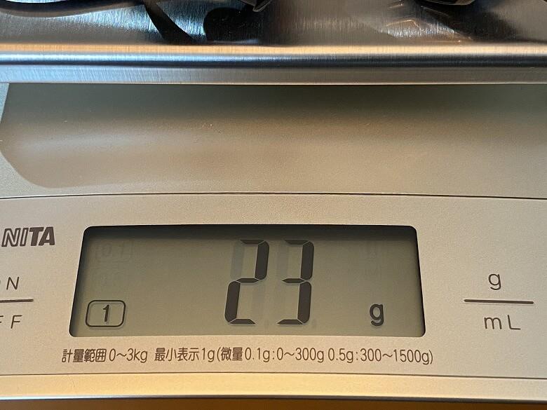 Vankyo G10 重さマイク込み