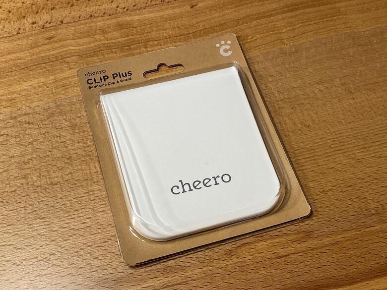 cheero CLIP Plus パッケージ