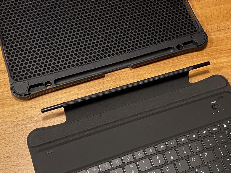 Inateck iPad Pro 12.9 ケースと分離
