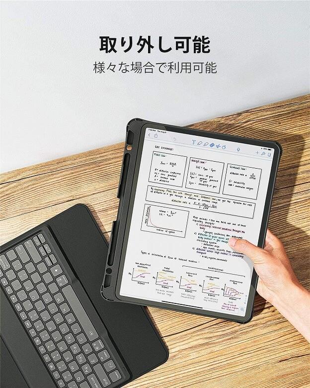 Inateck iPad Pro 12.9 取り外し可能