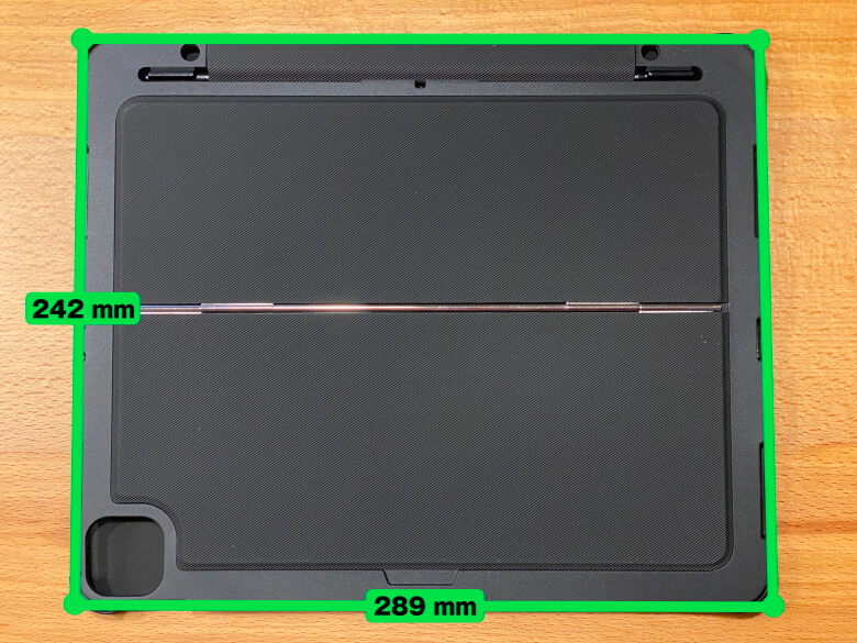 Inateck iPad Pro 12.9 サイズ