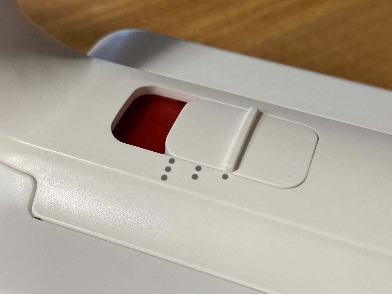 Shunzao Z11 Pro 吸引力段階ボタン