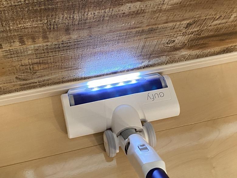 Eufy HomeVac S11 Go LEDライト