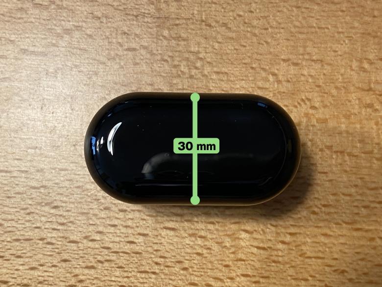 COUMI Ear Soul TWS-817A 充電ケース厚さ