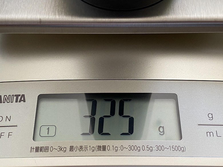 Brigii Y120 重さ