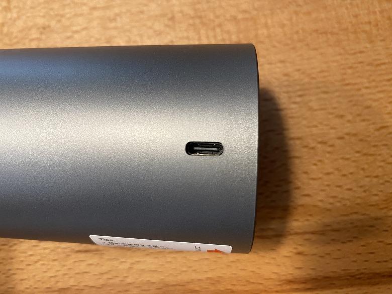 Brigii Y120 Pro USB Type-Cポート