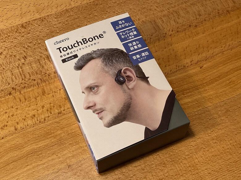 cheero TouchBone 外箱