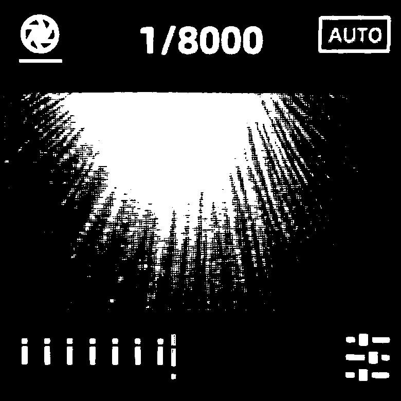 FIMI PALM 3軸ジンバルカメラ シャッター速度