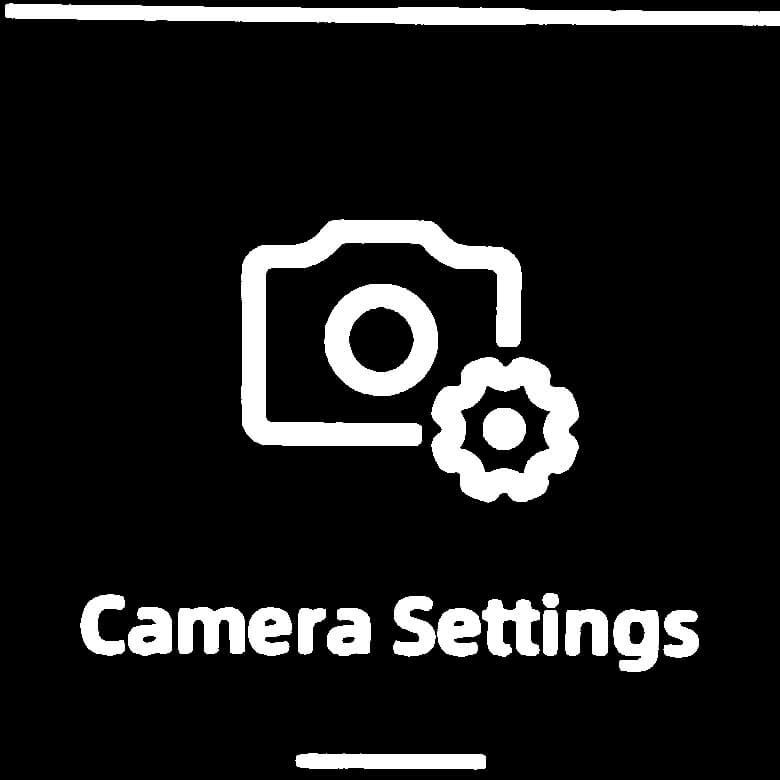 FIMI PALM 3軸ジンバルカメラ カメラ設定