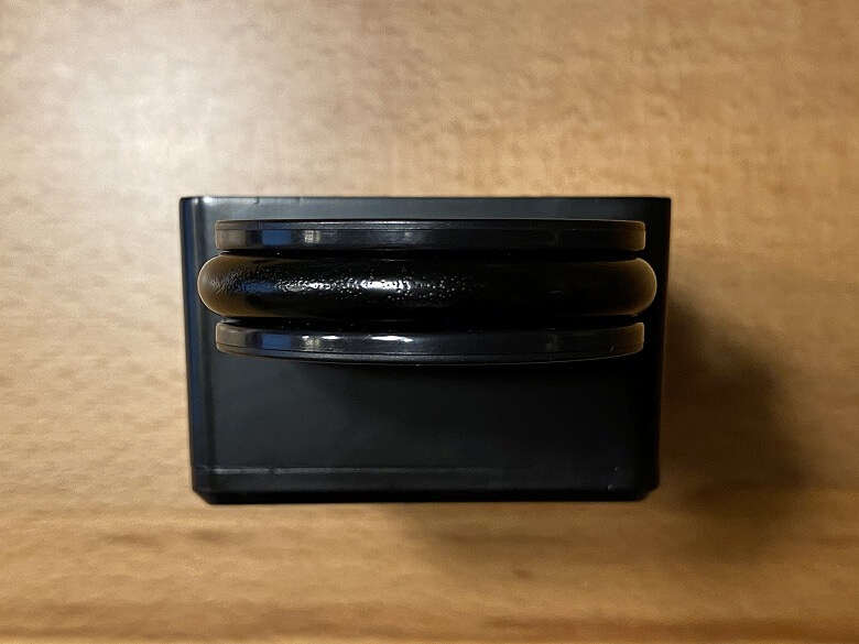 POPULIFEスマートキーボックス バックルを上から見たところ