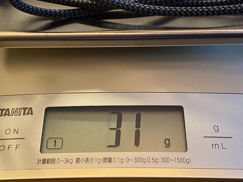 TUNEMAX 66W GaN Lightningケーブル重さ