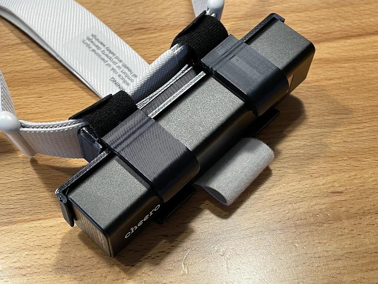 オキュラスクエスト2用バッテリーキット バックヘッドスタイル 5000mAh ファスナーで固定