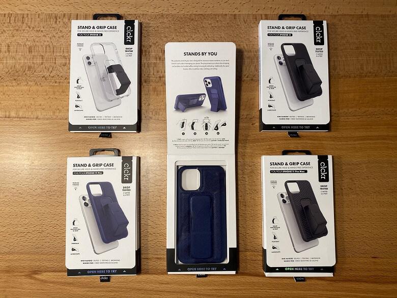 CLCKR iPhone Case 5種類外箱