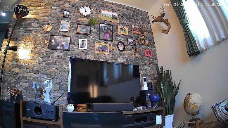 Eufy IndoorCam 2K Pan & Tilt スクリーンショット