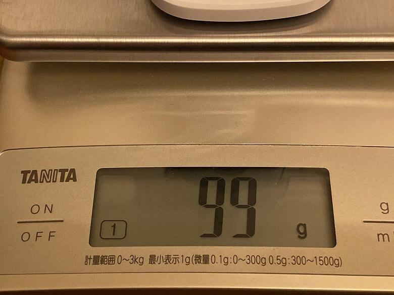Eufy IndoorCam 2K 重さ