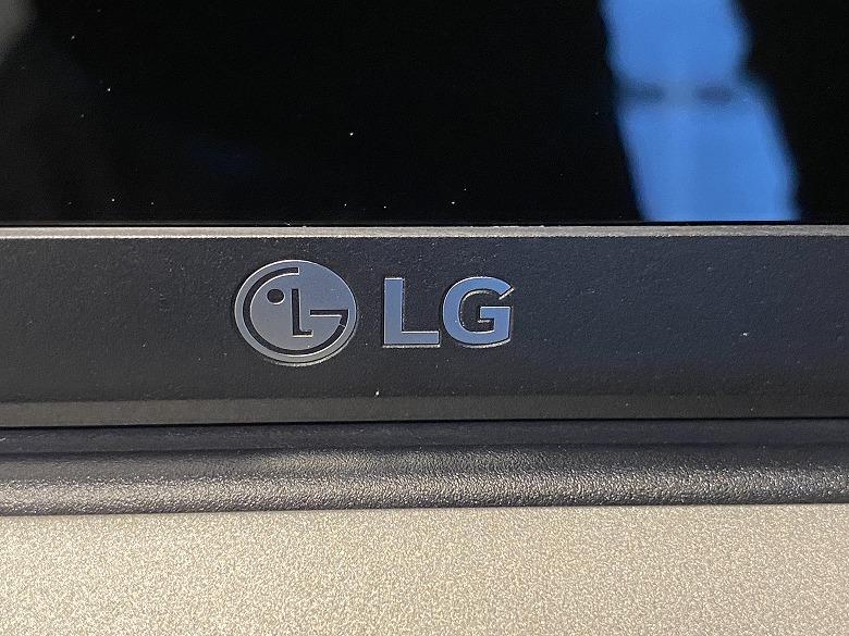 LG gram 17Z90N LGロゴ