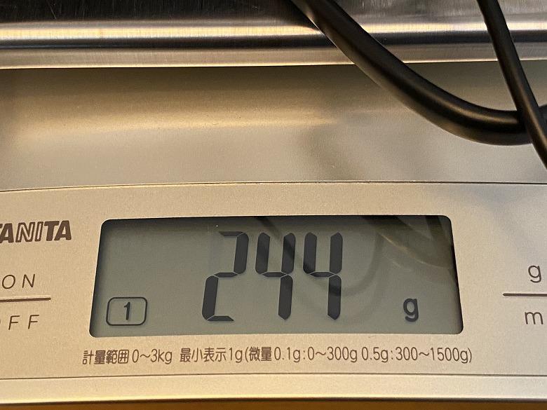 LG gram 17Z90N ACアダプター重さ