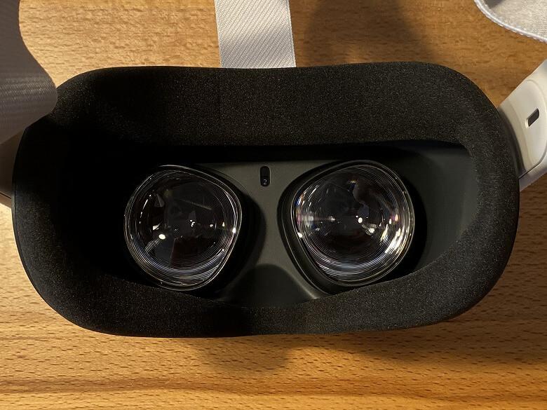Oculus Quest 2 レンズ