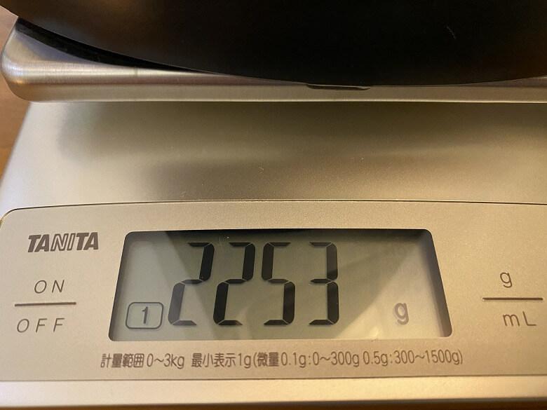 TaoTronics TT-HE004 重さ