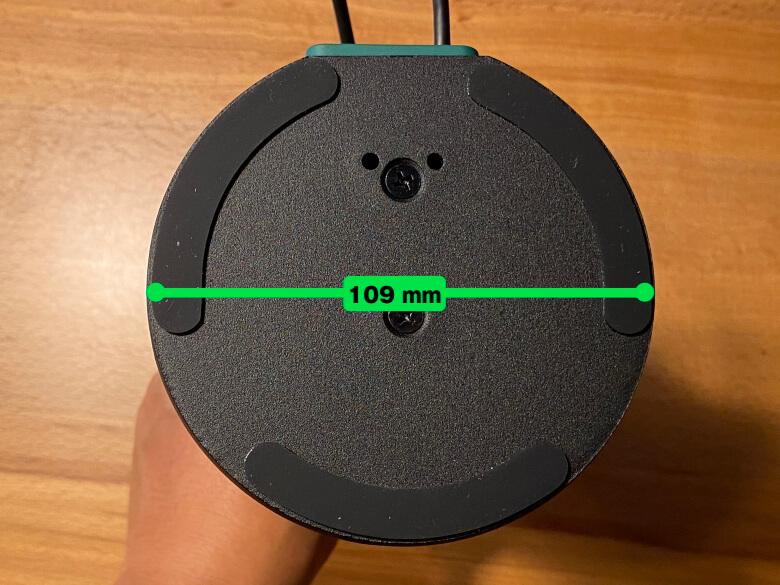 IPEVO VZ-R ベース直径