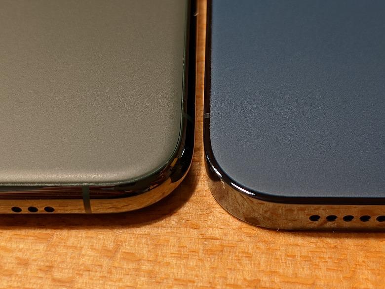 iPhone 12 Pro 背面比較