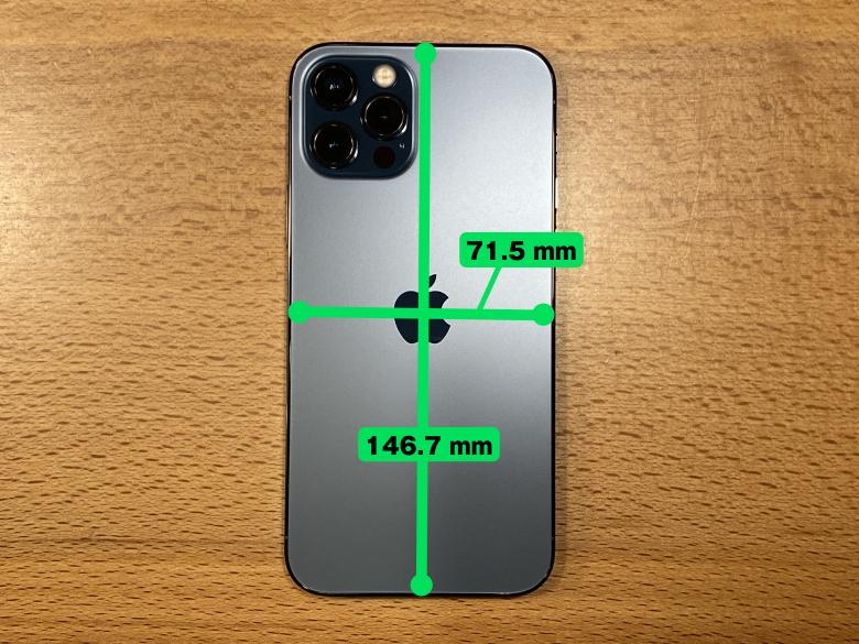 iPhone 12 Pro サイズ