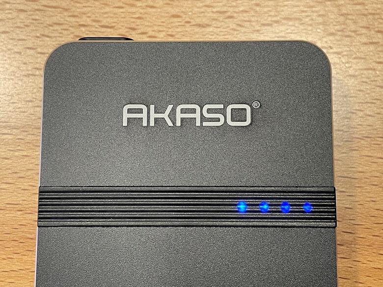 AKASO ミニビデオプロジェクター インジケーター