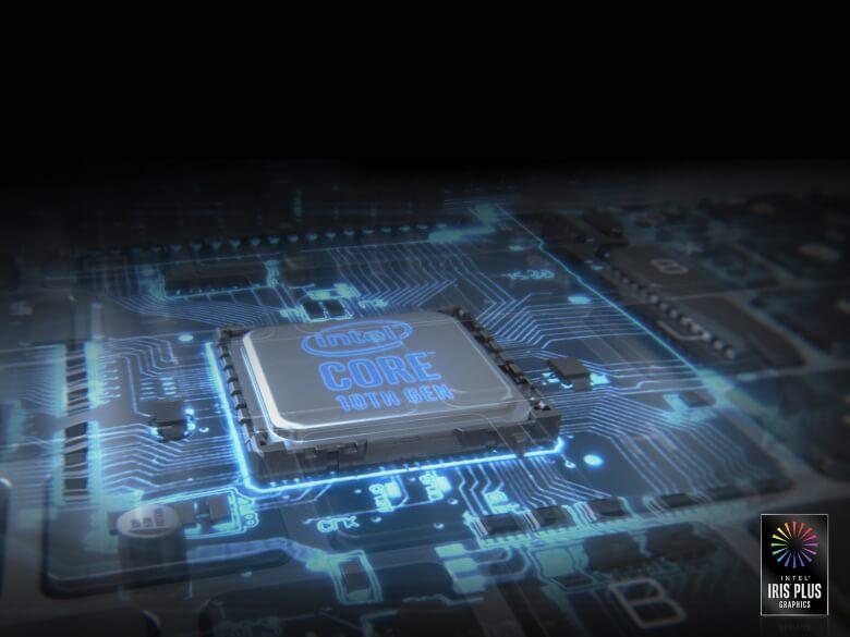 LG gram 17Z90N CPU