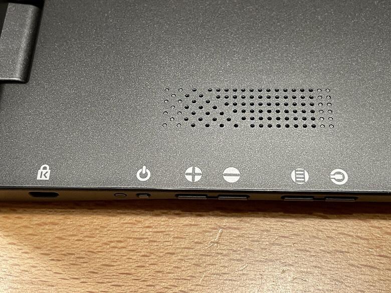GeChic モバイルモニター On-Lap M505E 各種ボタン