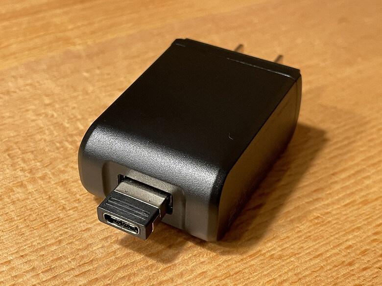 GeChic モバイルモニター On-Lap M505E 変換コネクタ装着