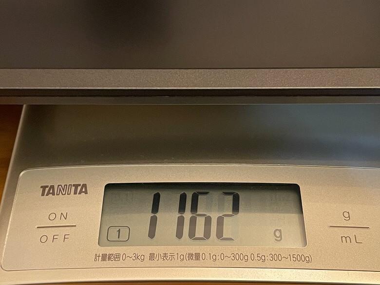 GeChic モバイルモニター On-Lap M505E 重さ