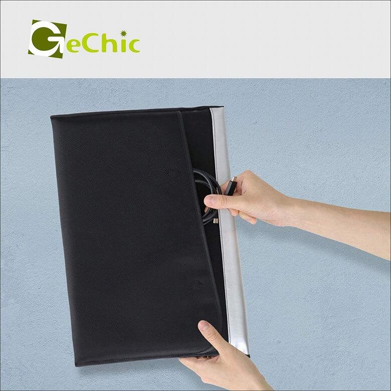 GeChic モバイルモニター On-Lap M505E 外面ポケット