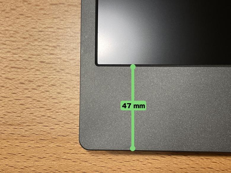 GeChic モバイルモニター On-Lap M505E ベゼル