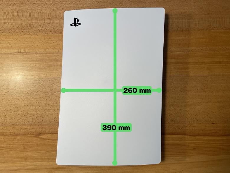 PlayStation 5 サイズ