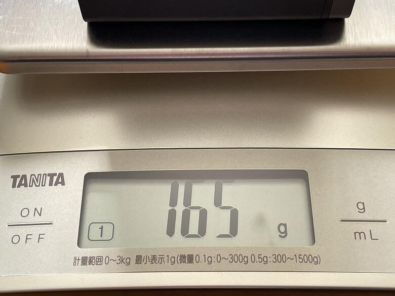 RAVPower RP-PC136 重さ