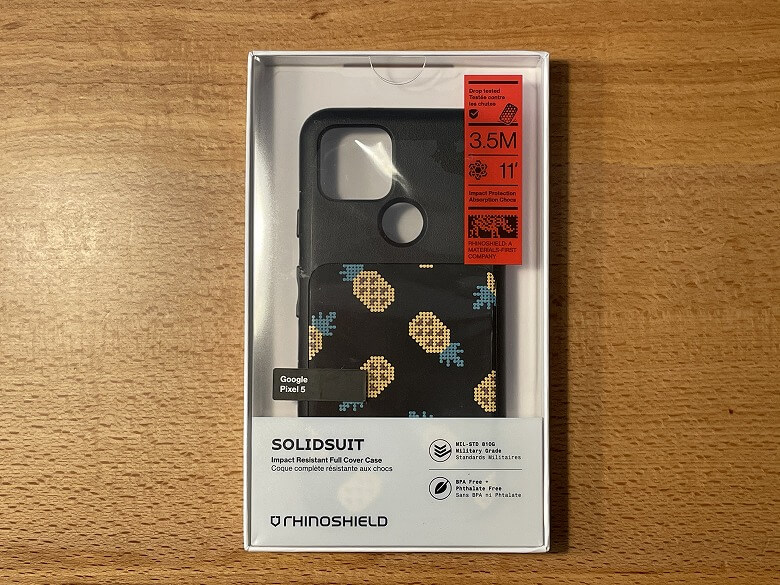 RhinoShield SolidSuit パイナップル外箱