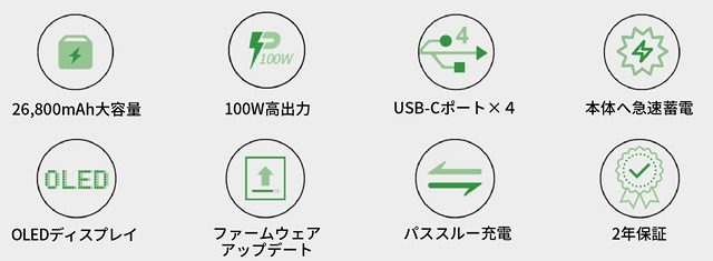 SuperTank Pro 8つの特徴