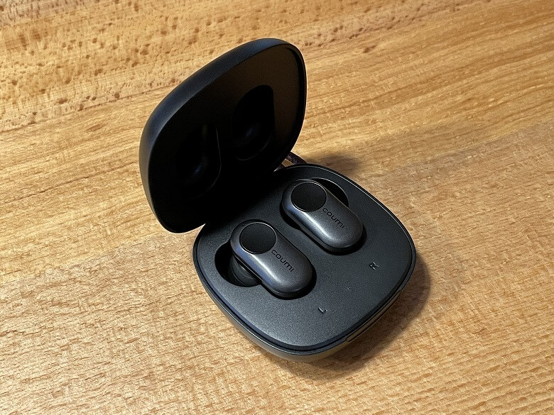 COUMI ANC-860 充電ケースとイヤホン