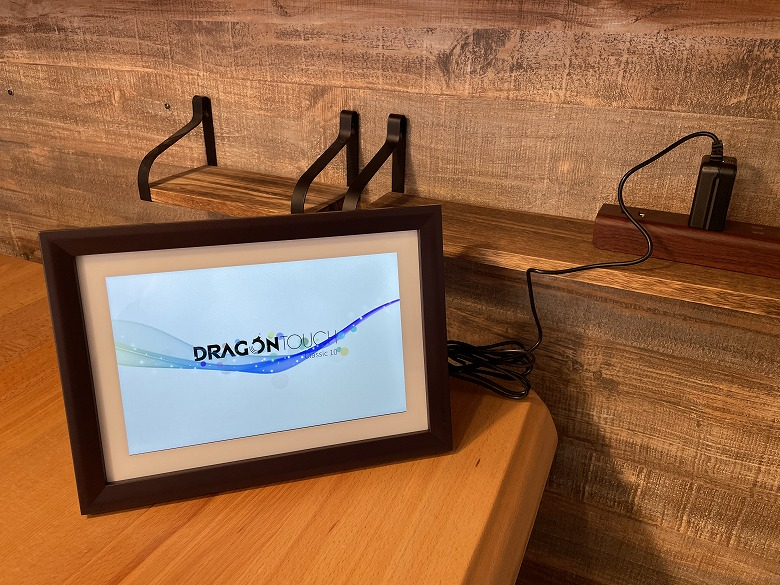 Dragon Touch Classic 10 電源接続