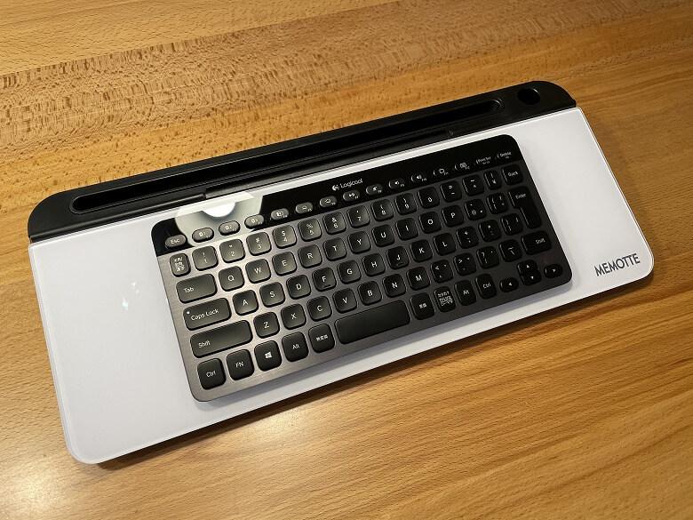 MEMOTTE マルチホワイトボード Bluetoothキーボード