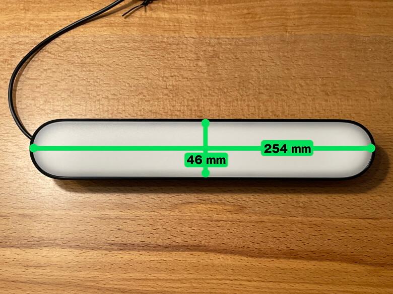 Philips Hue Play ライトバー サイズ