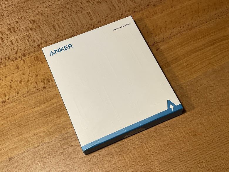 Anker PowerCore Slim 10000 PD 20W 外箱