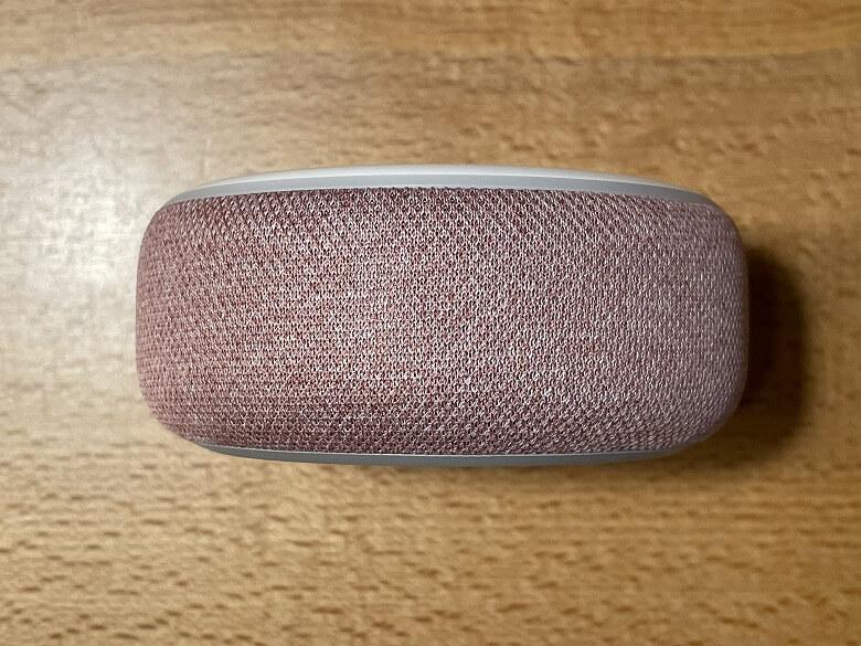 Amazon Echo Dot 第3世代 横から見たところ