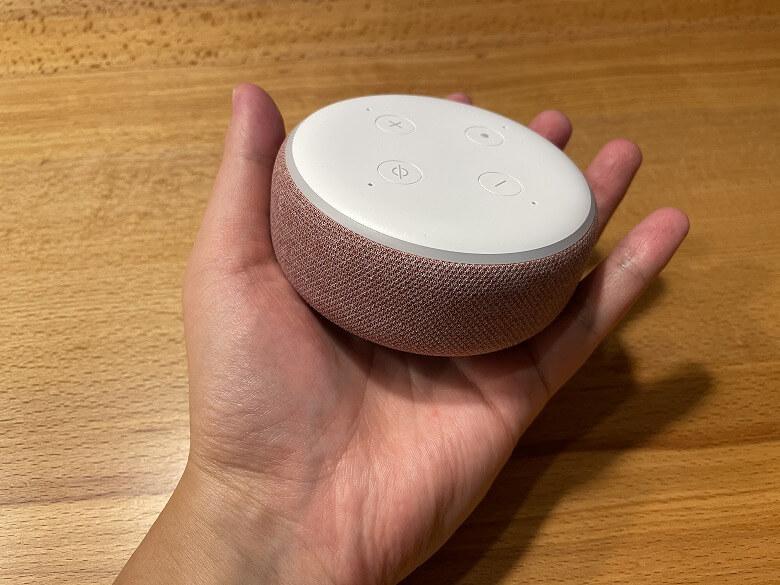Amazon Echo Dot 第3世代 手のひらサイズ