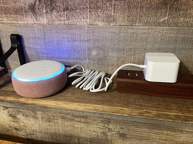 Amazon Echo Dot 第3世代 電源ON
