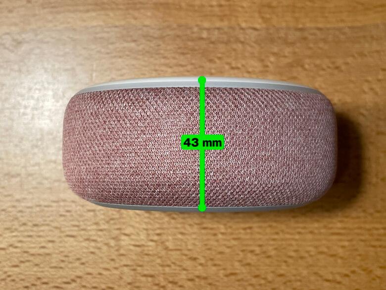 Amazon Echo Dot 第3世代 厚さ