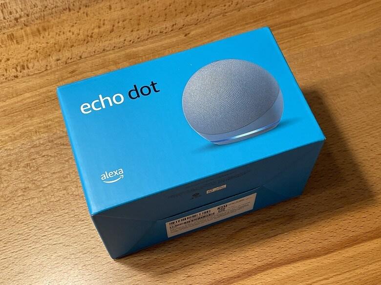 Amazon Echo Dot 第4世代 外箱