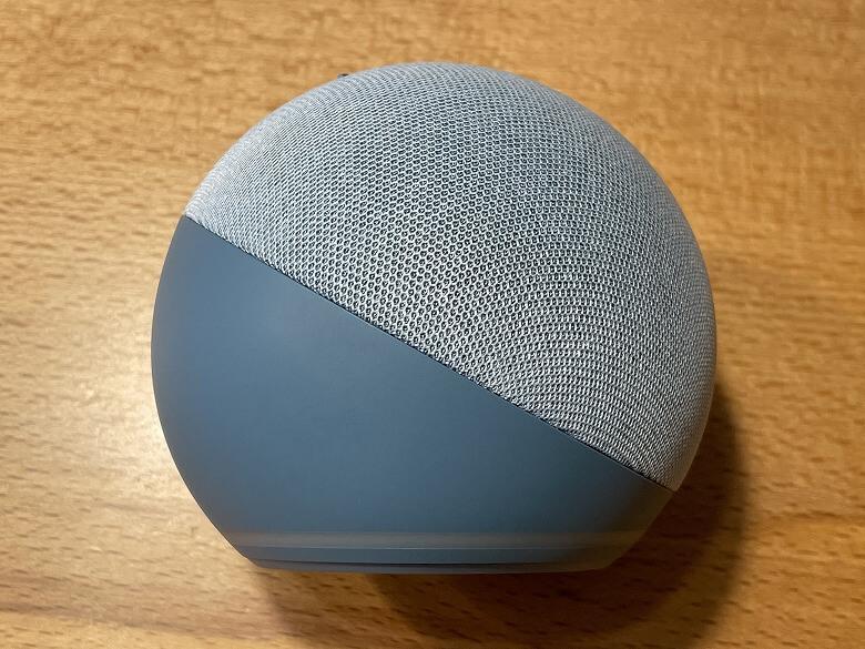 Amazon Echo Dot 第4世代 横から見たところ